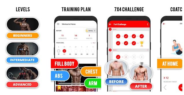 aplikacje sportowe do ćwiczeń w domu